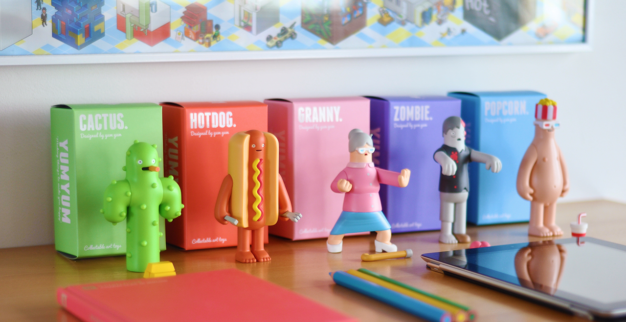 Toy Series One collectible art toy