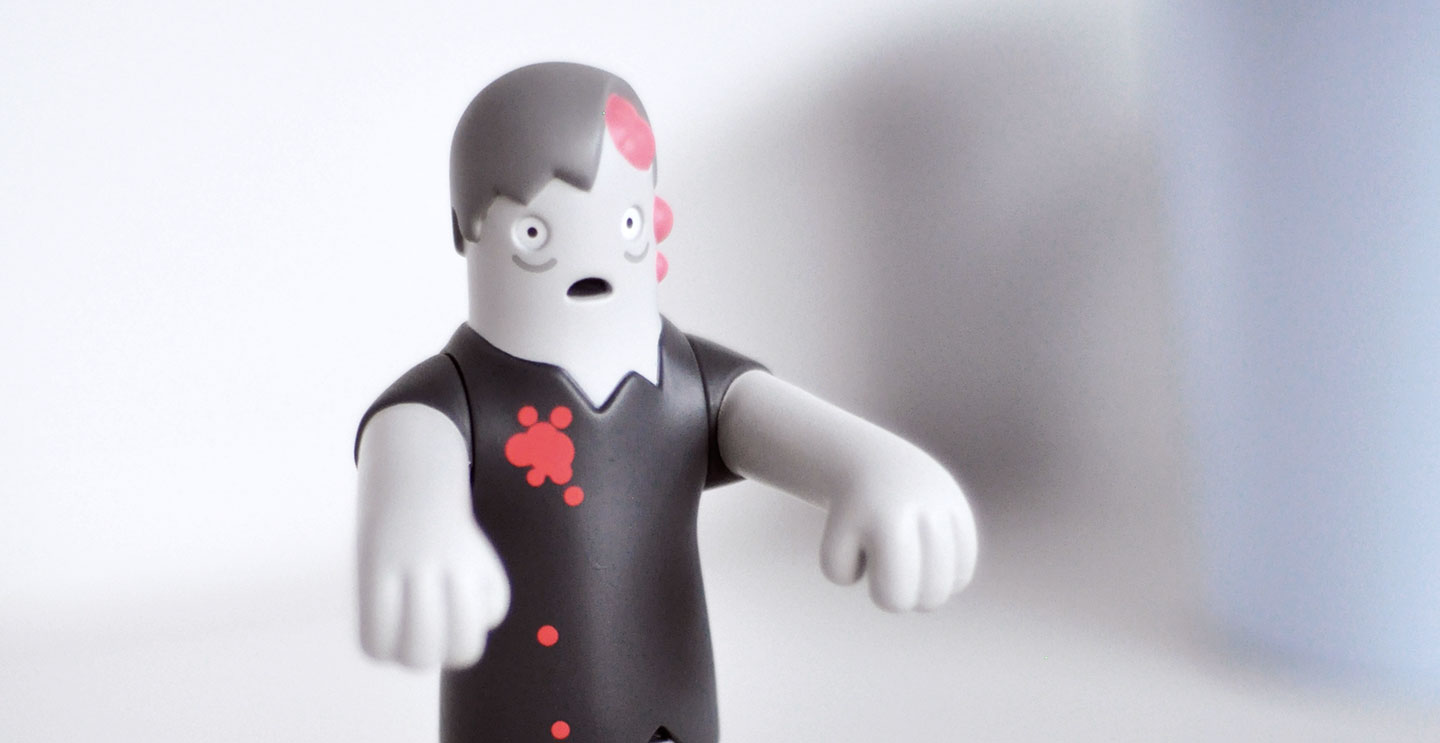 Zombie collectible art toy